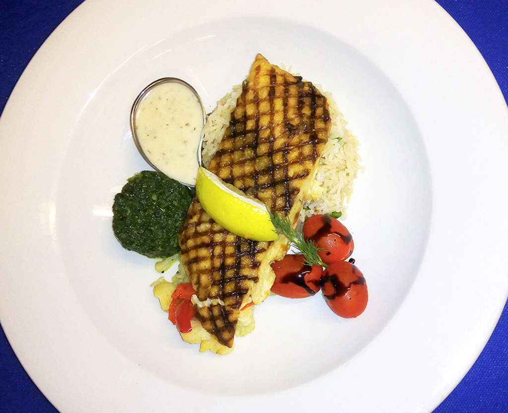 Grilled Marked Tilapia