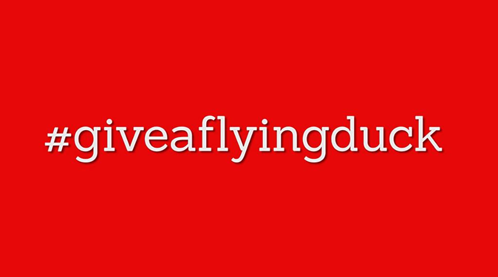 #giveaflyingduck