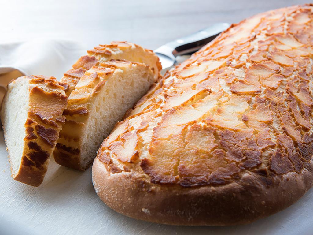 A fresh loaf of bread