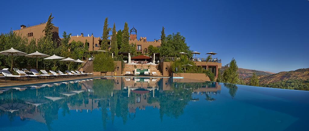 Kasbah Tamadot swimming pool