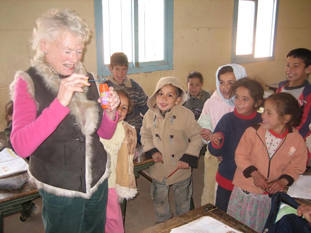 Eve Branson at Kasbah Tamadot