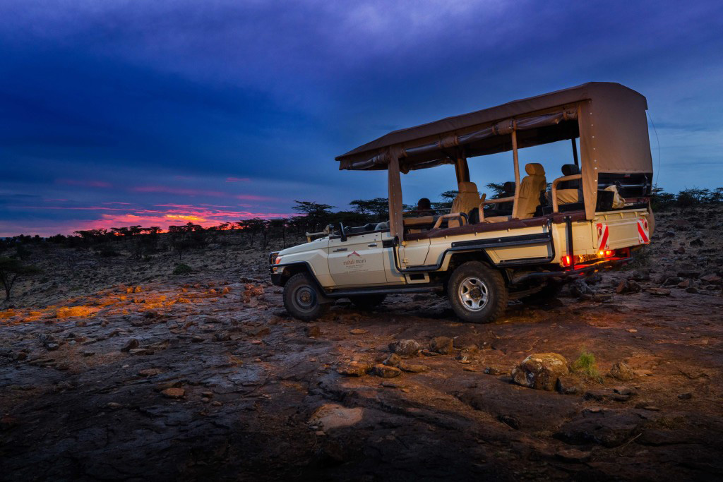 Game drives at Mahali Mzuri