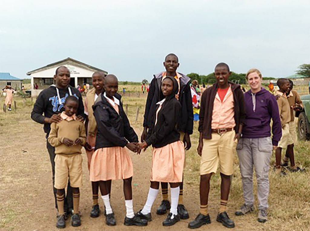 Pupils from Ilbaan Primary