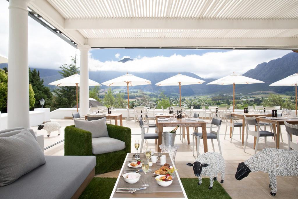 Miko Restaurant Terrace