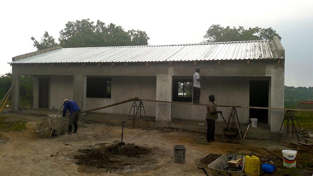 Ntseveni School construction