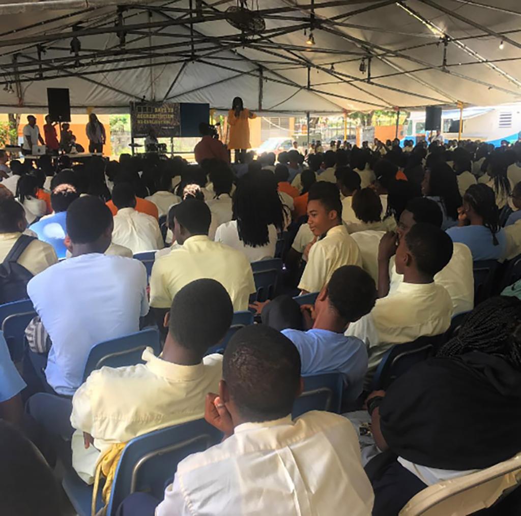 Unite BVI school sessions