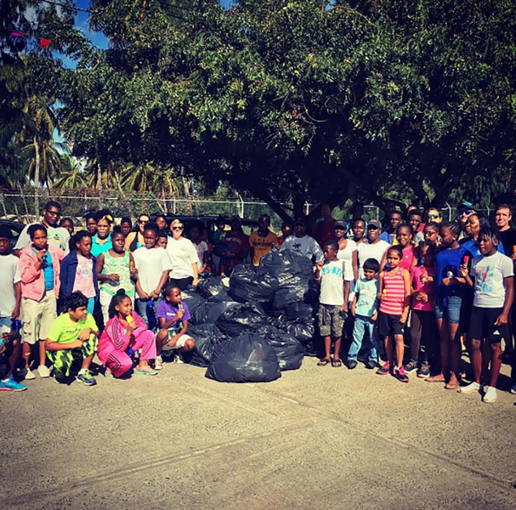 Unite BVI recyc;ing project