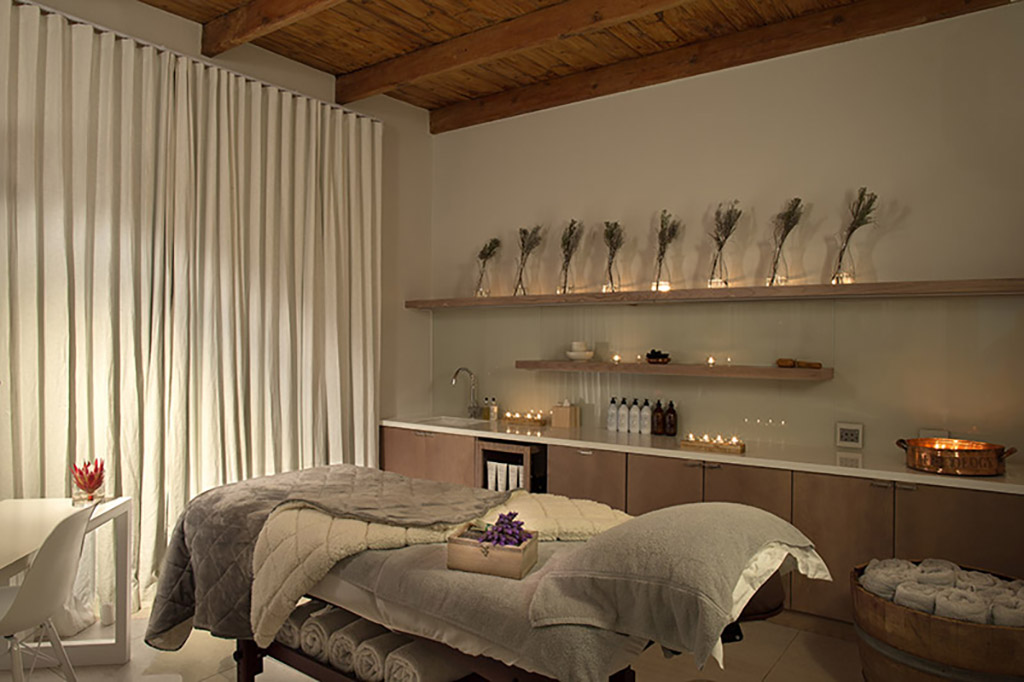 Spa Treatment Room at Mont Rochelle