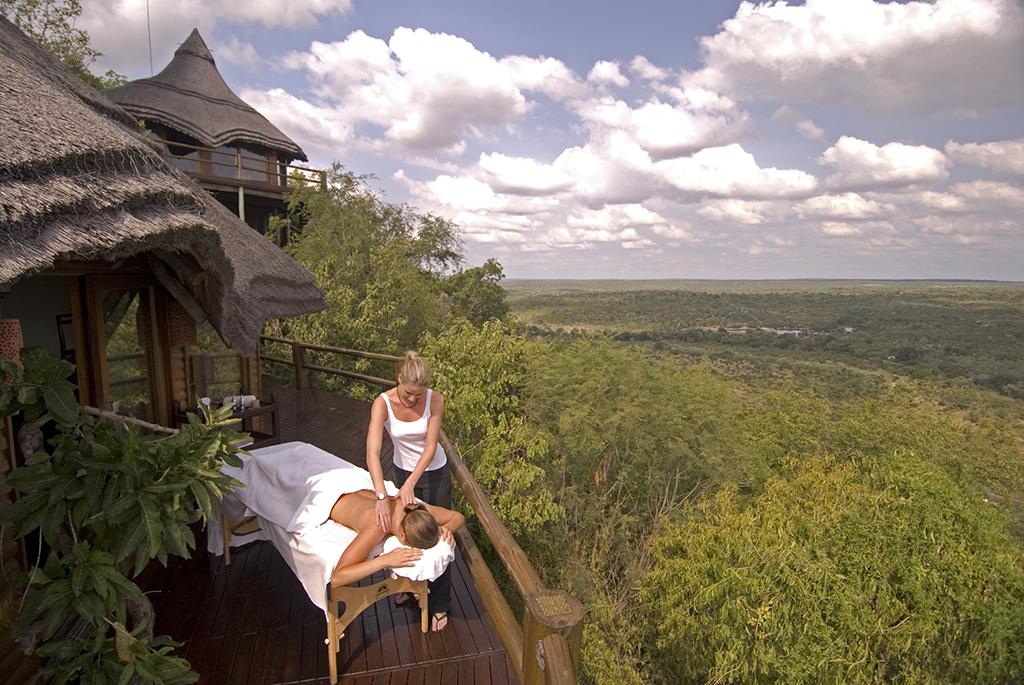The Aroma Boma Spa at Rock Lodge