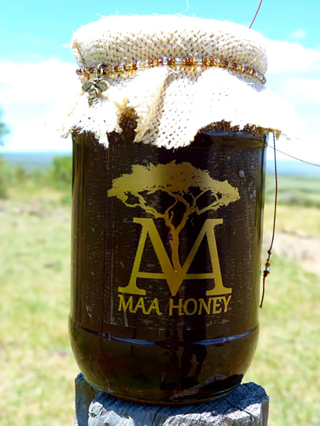 A jar of Maa Honey