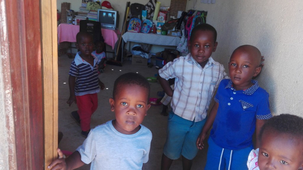 Children at the Masungulo Preschool