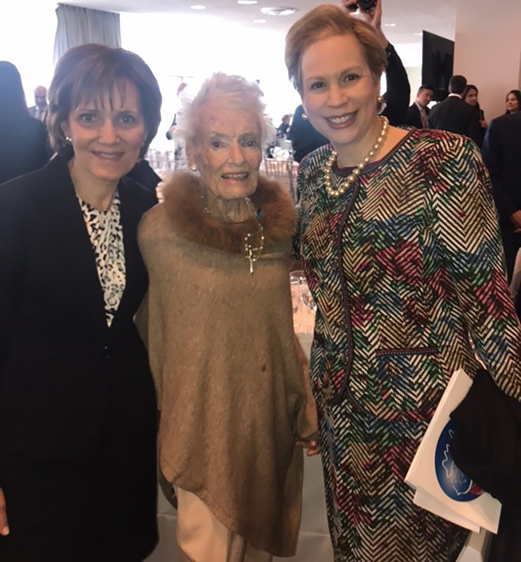 Eve Branson at the UN Women for Peace