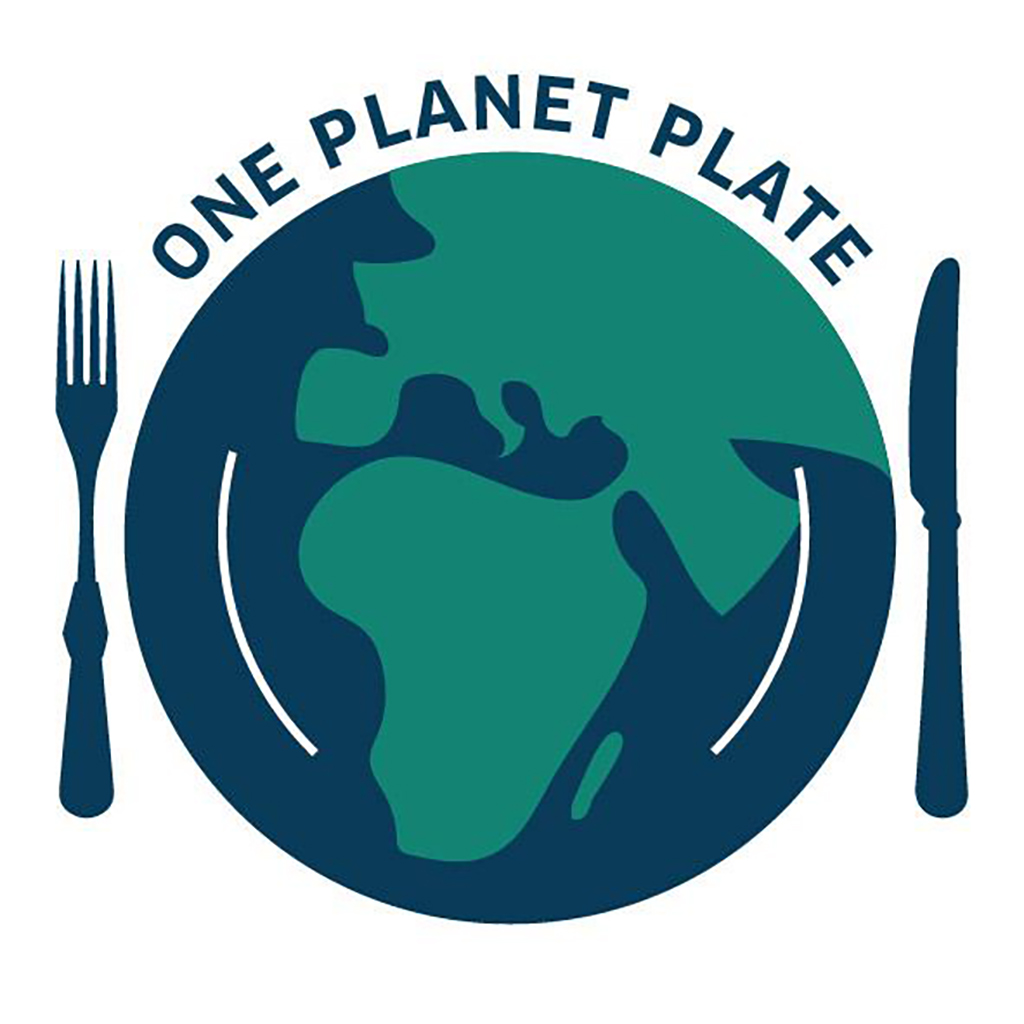 One Planet Plate logo